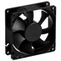 Вентилятор, 80х80х25, 12В, 0.19А, DC, JF8025S1H-R (скольжения)